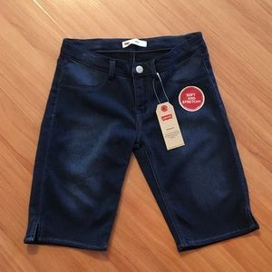 Girls Levi's Soft and Stretchy Bermuda Shorts